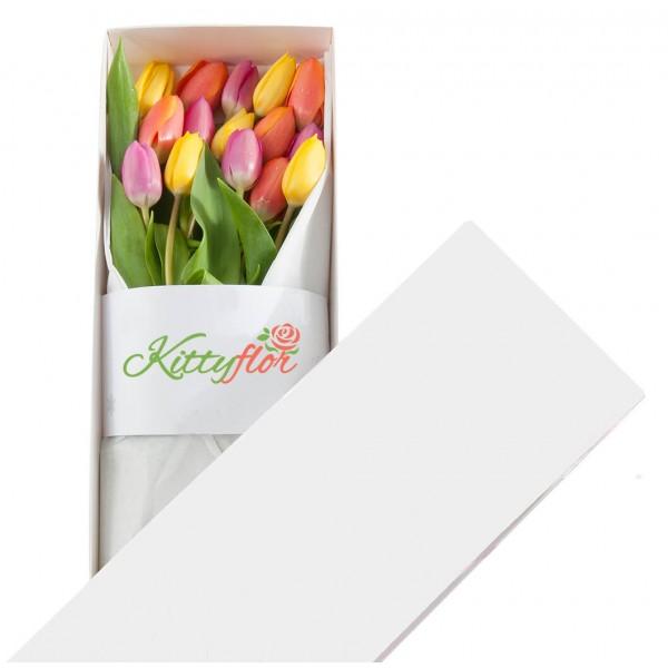 ▷ Cajas de 15 Tulipanes para Regalar | Kittyflor