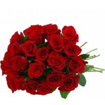 ▷ 24 Rosas Rojas en Ramo