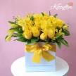 Box de Rosas Amarillas Hermosas