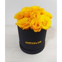Box de Rosas Amarillas |12 tallos
