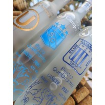 Botella de Pisco Personalizada con tu Equipo Favorito (U, AL, SC)