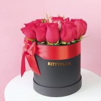Box de Rosas y Astromelias