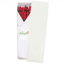 ▷ Caja de Rosas Rojas Para Regalar | 12 Tallos