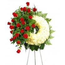 Arreglo Floral para Difunto | Corona Fúnebre
