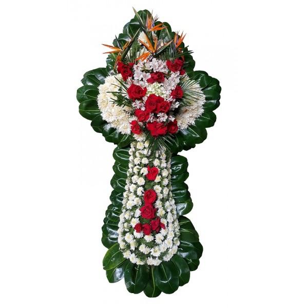 Arreglos Florales Para Difuntos Cruz Funebre