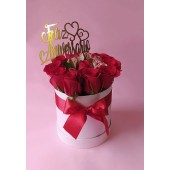 Box de Flores de Regalo de Aniversario