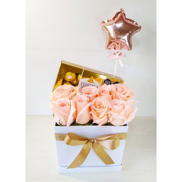 Flores y Chocolates a Domicilio