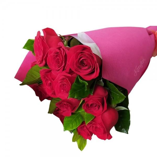 ▷ Regala un sonrisa con estos Lindos ramos de rosas rojas