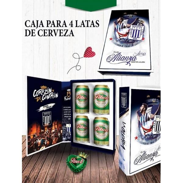 Regalo de cervezas por el día del Padre - Alianza Lima