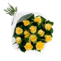 ▷ Ramo de Rosas Amarillas | 24 Rosas Kittyflor