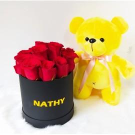 Box de rosas y Ositos de Peluche